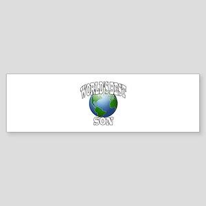 WORLD'S BEST SON Bumper Sticker