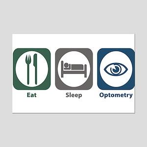 Eat Sleep Optometry Mini Poster Print