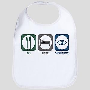 Eat Sleep Optometry Bib
