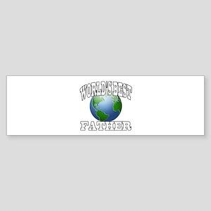 WORLD'S BEST FATHER Bumper Sticker
