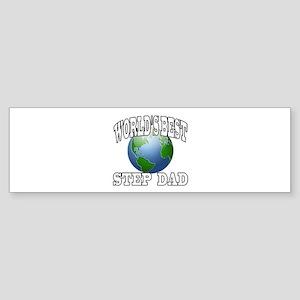 WORLD'S BEST STEP DAD Bumper Sticker