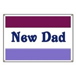 New Dad Banner