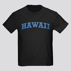 Vintage Hawaii Kids Dark T-Shirt