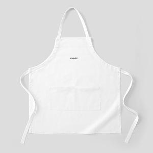 minimalist BBQ Apron