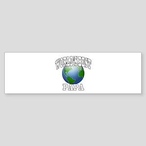 WORLD'S BEST PAPA Bumper Sticker