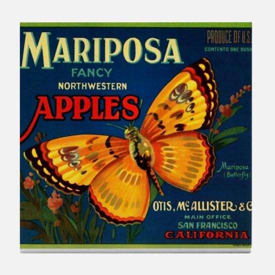 Mariposa Tile Coaster