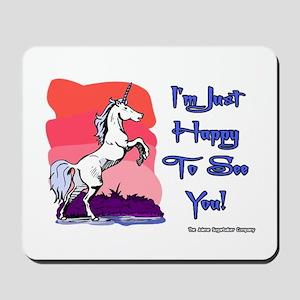Naughty Unicorn Mousepad