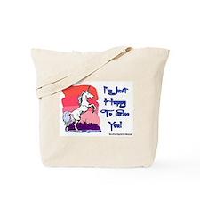 Naughty Unicorn Tote Bag