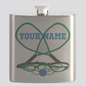 Personalized Racquetball Flask