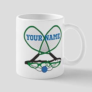 Personalized Racquetball Mugs