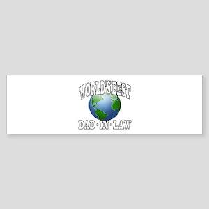 WORLD'S BEST DAD-IN-LAW Bumper Sticker