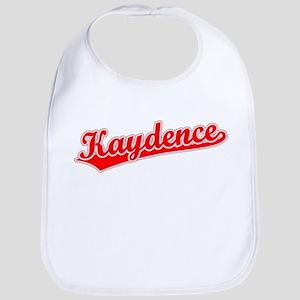 Retro Kaydence (Red) Bib