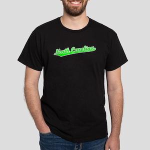 Retro North Carolina (Green) Dark T-Shirt