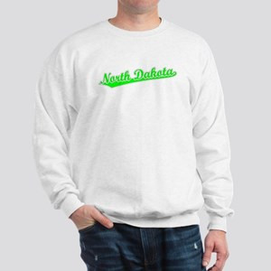 Retro North Dakota (Green) Sweatshirt