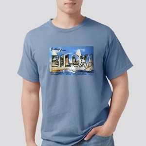 Biloxi Mississippi Greetings Ash Grey T-Shirt