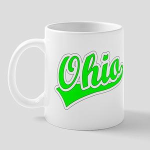 Retro Ohio (Green) Mug