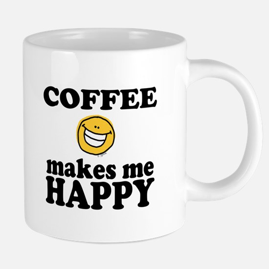 Coffee Makes Me happy Mugs