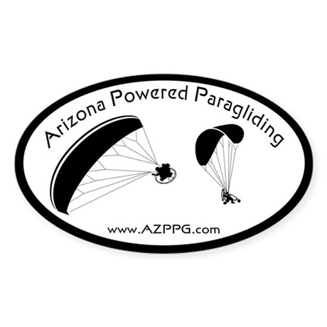 AZPPG Stickers Oval Sticker
