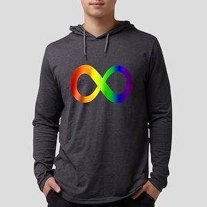 Autism Awareness Rainbow Infin Long Sleeve T-Shirt