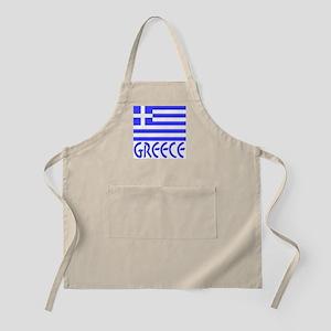 Greece Flag & Name Apron