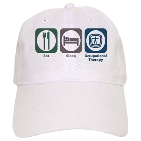 Eat Sleep Occupational Therapy Cap
