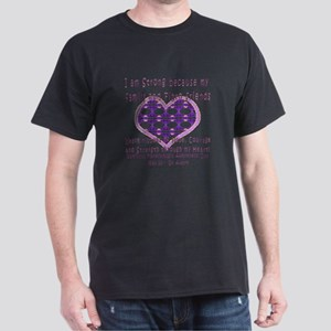 Family & Fibro Friends Weave Dark T-Shirt