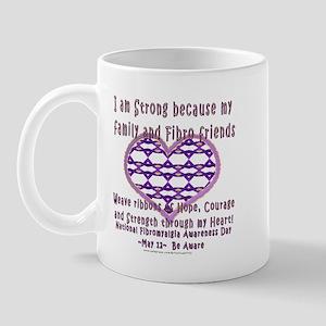 Family & Fibro Friends Weave Mug
