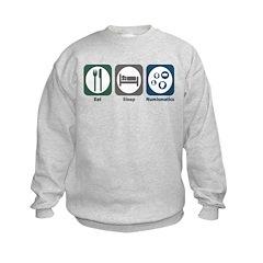 Eat Sleep Numismatics Sweatshirt
