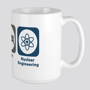 Eat Sleep Nuclear Engineering Large Mug