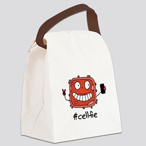 #Cellfie Canvas Lunch Bag