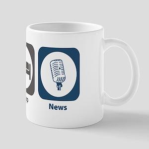 Eat Sleep News Mug