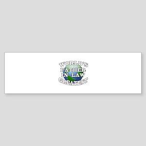 WORLD'S GREATEST FATHER-IN-LAW Bumper Sticker