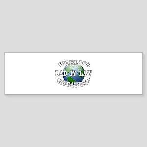 WORLD'S GREATEST DAD-IN-LAW Bumper Sticker