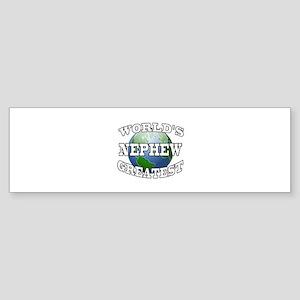 WORLD'S GREATEST NEPHEW Bumper Sticker