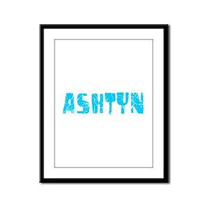 Ashtyn Faded (Blue) Framed Panel Print
