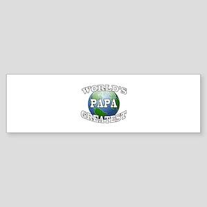 WORLD'S GREATEST PAPA Bumper Sticker