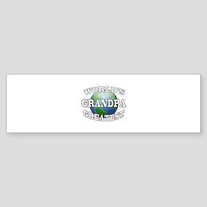 WORLD'S GREATEST GRANDPA Bumper Sticker