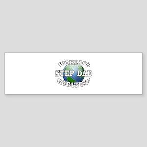 WORLD'S GREATEST STEP DAD Bumper Sticker