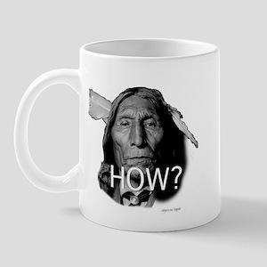 """Sir wolf robe""chief asking H Mug"