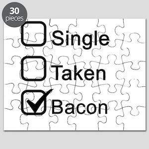 Single, Taken, Bacon Puzzle