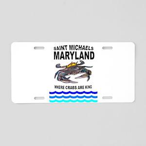 SAINT MICHAELS, MD. Aluminum License Plate