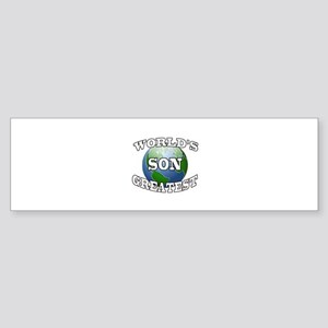WORLD'S GREATEST SON Bumper Sticker