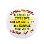 "Global Warming 3.5"" Button"
