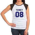 Toney 08 Women's Cap Sleeve T-Shirt