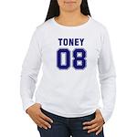 Toney 08 Women's Long Sleeve T-Shirt