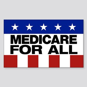 Medicare For All Sticker (rectangle)