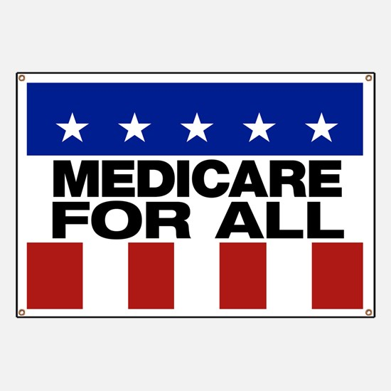 Medicare For All Banner