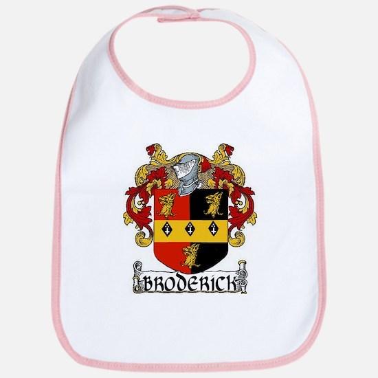 Broderick Coat of Arms Bib