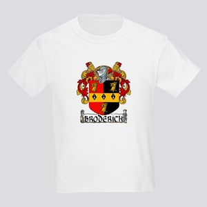Broderick Coat of Arms Kids Light T-Shirt