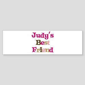 Judy's Best Friend Bumper Sticker
